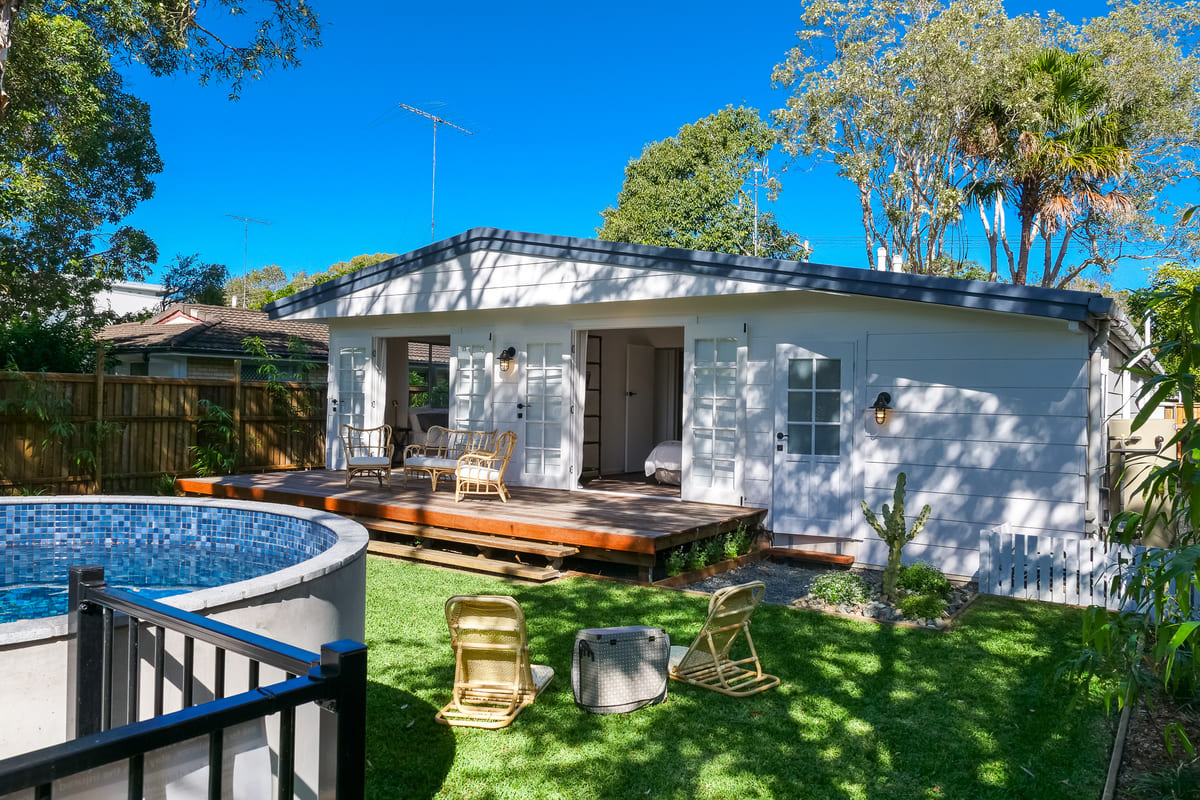 Stunning Private Fully Fenced Garden with Plunge Pool